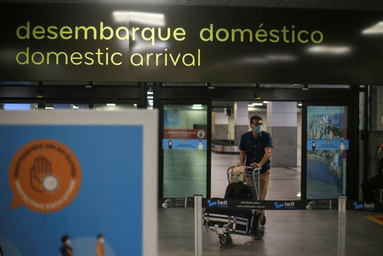 O aeroporto teve índice de pontualidade de 95.09% para as decolagens feitas em julho | Foto: Raphael Müller | Ag. A TARDE - Foto: Raphael Müller | Ag. A TARDE