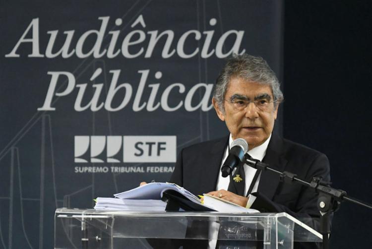 Ex-presidente do STF afirma que a Corte tem sempre a última palavra   Foto: Carlos Moura   SCO - Foto: Carlos Moura   SCO