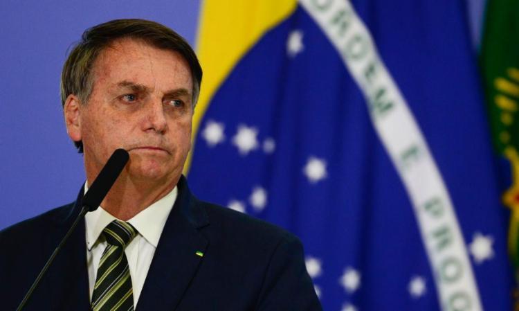 Bolsonaro tem sofrido com diversas crises no governo e alta taxa de rejeição - Foto: Agência Brasil