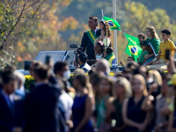 Bolsonaro participou de cerimônia em Brasília, onde voltou a atacar membros do STF | Foto: Marcelo Camargo | Agência Brasil - Foto: Marcelo Camargo | Agência Brasil