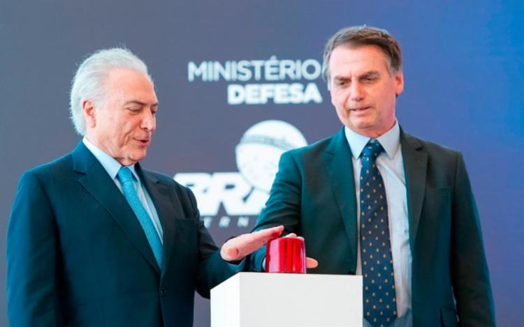 Até às 15h30, Bolsonaro seguia em reunião com Temer e também com o advogado-geral da União, Bruno Bianco I Foto: Reprodução - Foto: Reprodução