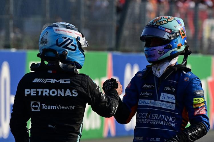 Por conta da penalização, Bottas vai partir da última posição na largada da prova no GP da Itália   Foto: Andrej Isakovic   AFP - Foto: Andrej Isakovic   AFP
