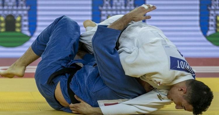Guilherme Schmidt chega à final e leva prata no Grand Prix de Zagreb | Foto: Gabriela Sabau| IJF | Direitos Reservados - Foto: Gabriela Sabau| IJF | Direitos Reservados