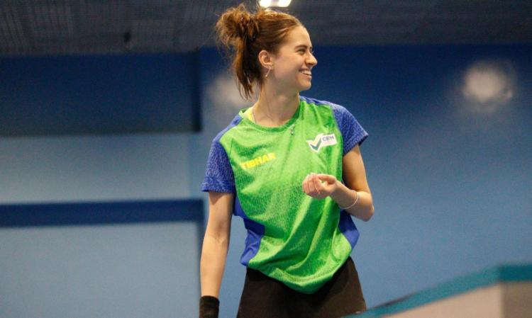 Bruna Takahashi derrotou Lin Ye (61ª do ranking), de Singapura, por 3 sets a 0 (11/8, 12/10 e 11/5) | Foto: André Soares | CBTM - Foto: André Soares | CBTM