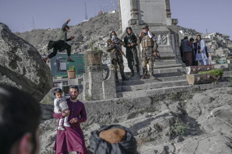 O ataque teve como alvo uma suposta operação do EI | Foto: AFP - Foto: AFP