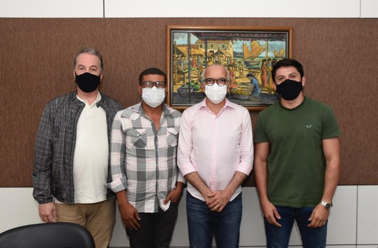 Carlos Amorim, Wesley Lemos, Edvaldo Nogueira e Matheus Freitas | Foto: Reprodução - Foto: Reprodução
