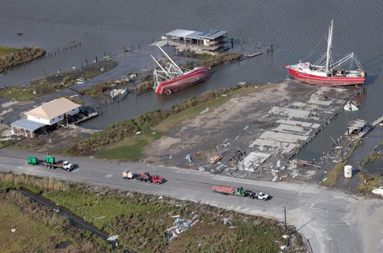 Nova Orleans, nos Estados Unidos, sofre nos últimos dias com o efeito do Furacão Ida | Foto: Win Mcnamee | Getty Images via AFP - Foto: Win Mcnamee | Getty Images via AFP