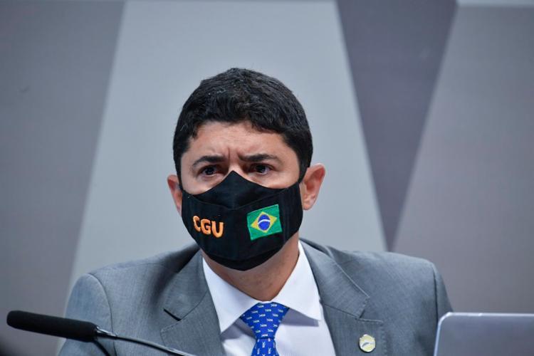 Ao prestar depoimento, Wagner Rosário foi acusado de defender interesses de Bolsonaro | Foto: Leopoldo Silva | Agência Senado - Foto: Leopoldo Silva | Agência Senado