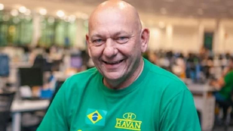 Investigado pela CPI, Luciano Hang é um dos maiores apoiadores do presidente Jair Bolsonaro | Foto: Reprodução | Redes Sociais - Foto: Reprodução | Redes Sociais