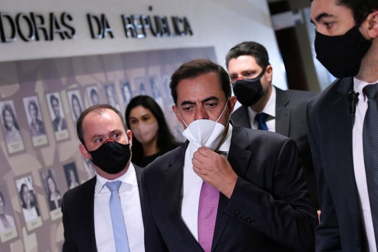 Tolentino negou qualquer envolvimento na negociação para a aquisição da Covaxin   Foto: Edilson Rodrigues   Agência Senado - Foto: Edilson Rodrigues   Agência Senado