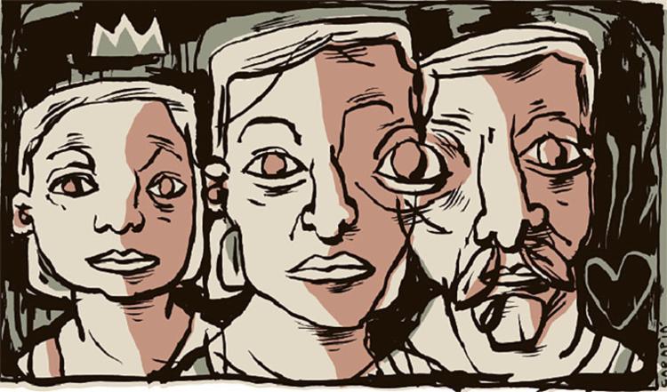 São assim os relacionamentos, afetivos e familiares. É como andar na corda bamba, dezenas de metros acima do solo   Imagem: Túlio Carpiá   Editoria de Arte A TARDE - Foto: Túlio Carpiá   Editoria de Arte A TARDE