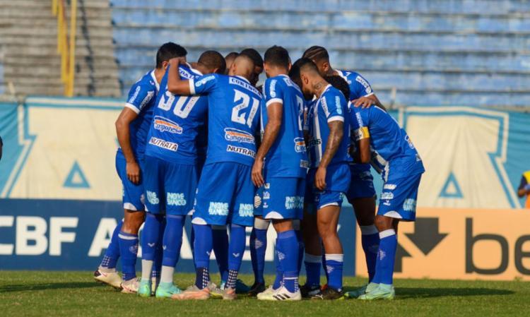 Marco Túlio e Iury Castilho fazem gols do Azulão   Foto: Augusto Oliveira   CSA - Foto: Augusto Oliveira   CSA