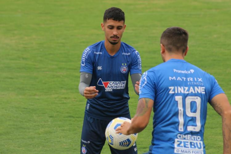 Tricolor conta com grupo quase completo para a partida | Foto: Bruno Queiroz | EC Bahia - Foto: Bruno Queiroz | EC Bahia