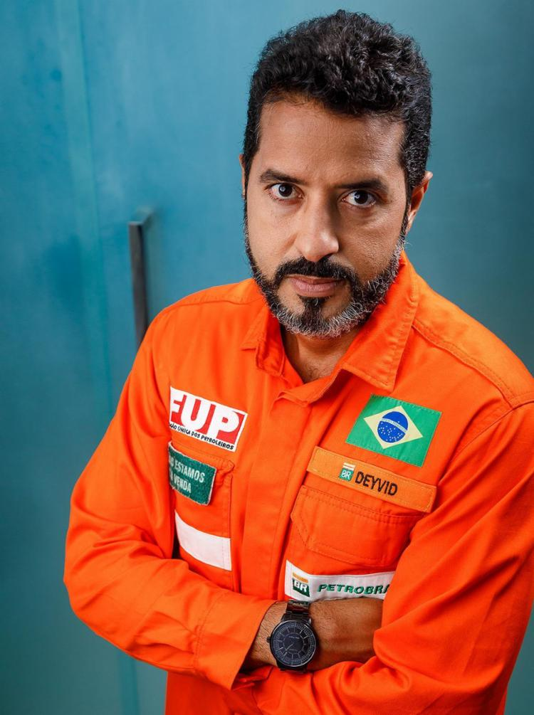 Deyvid Bacelar, coordenador-geral da Federação Unica dos Petroleiros | Foto: Ulisses Dumas | Argo Imagens - Foto: Ulisses Dumas | Argo Imagens