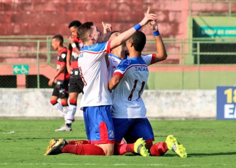 A partida de volta será na próxima quinta-feira, no Barradão   Foto: Divulgação   EC Bahia - Foto: Divulgação   EC Bahia