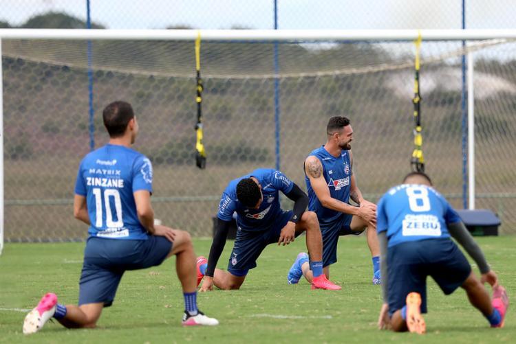 O Bahia precisa vencer a próxima partida para se distanciar da zona de rebaixamento | Foto: Felipe Oliveira | EC Bahia - Foto: Felipe Oliveira | EC Bahia