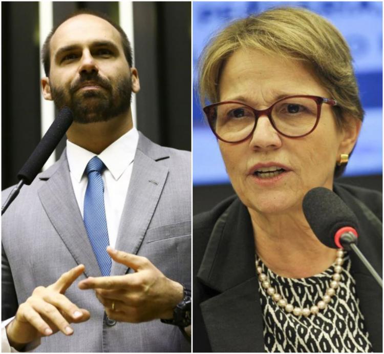 O parlamentar e a ministra da Agricultura revelaram o diagnóstico nesta sexta-feira | Fotos: Agência Brasil - Foto: Agência Brasil