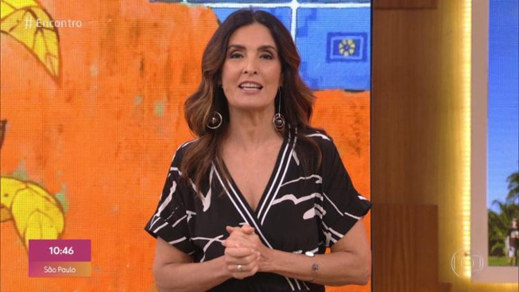 Emissora estaria analisando um projeto para a apresentadora Patrícia Poeta | Foto: Reprodução/ Tv Globo - Foto: Reprodução/ Tv Globo