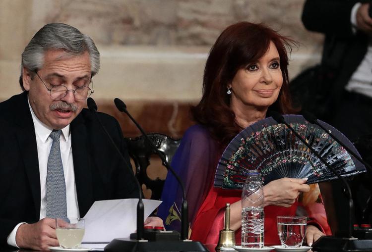 Estas declarações ocorrem um dia depois que cinco ministros considerados próximos de Kirchner apresentaram sua renúncia | Foto: Alejandro Pagni | AFP - Foto: Alejandro Pagni | AFP