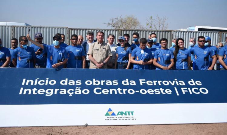 Linha férrea receberá investimentos de R$ 2,7 bilhões   Foto: Ricardo Botelho   Minfra - Foto: Ricardo Botelho   Minfra