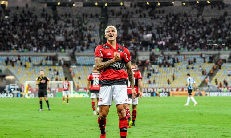Nas semifinais, o Rubro-Negro carioca enfrenta o Athletico-PR   Foto: Marcelo Cortes   CR Flamengo - Foto: Marcelo Cortes   CR Flamengo