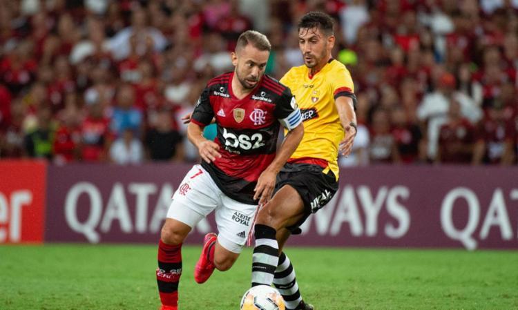 O primeiro duelo da semifinal será disputado no Maracanã | Foto: Alexandre Vidal | Flamengo - Foto: Alexandre Vidal | Flamengo