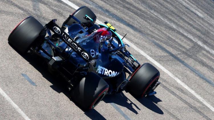O finlandês colocou pouco mais de dois décimos a frente do heptacampeão Lewis Hamilton | Foto: Divulgação | Fórmula 1 - Foto: Divulgação | Fórmula 1