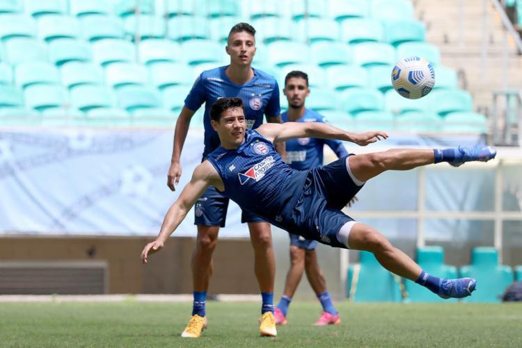Tricolor volta a mandar jogos na Fonte Nova neste sábado dante do Bragantino