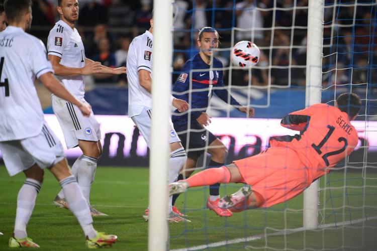 Griezmann marcou o gol de empate para os franceses | Foto: Franck Fife | AFP - Foto: Franck Fife | AFP