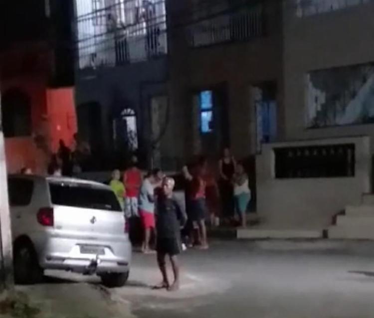 Crime aconteceu no bairro Caminho de Areia | Foto: Reprodução | Redes Sociais - Foto: Reprodução | Redes Sociais