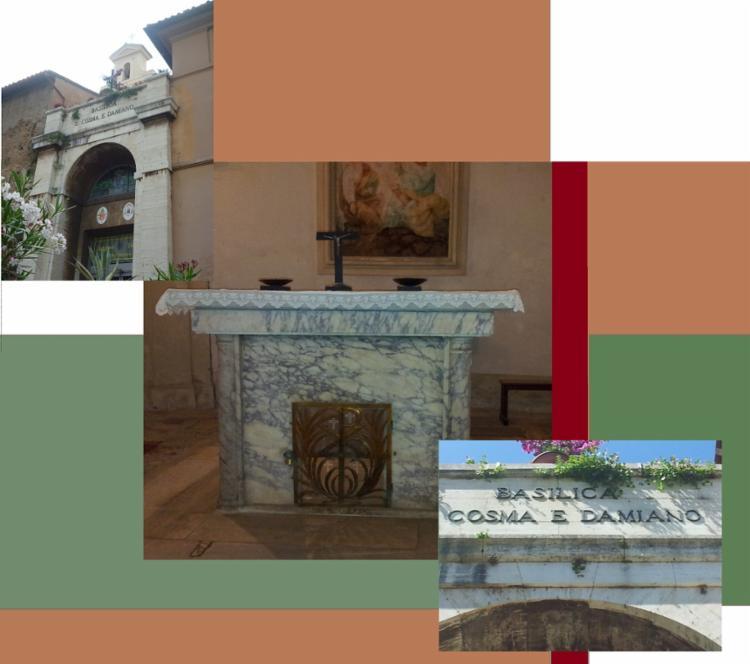 Basílica Santi Cosma e Damiano, Roma
