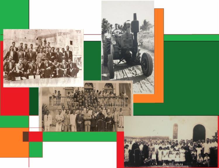 Os imigrantes italianos chegaram à Bahia, em uma última leva, nos anos 1950