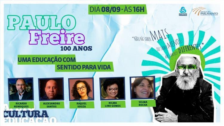 Durante o evento, serão discutidas as obras de Paulo Freire buscando trazê-las ao encontro dos desafios da educação na atualidade | Foto: Divulgação - Foto: Divulgação
