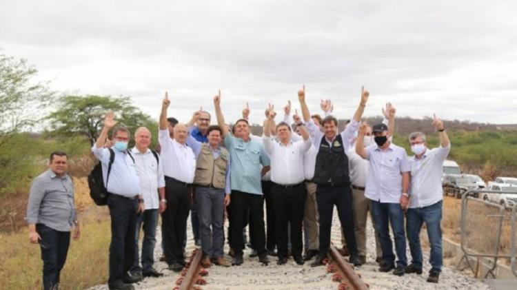 Possível candidato em 2022, ministro participou de comitiva presidencial em solenidade em Tinhaçu   Foto: Júlio Dutra   Divulgação - Foto: Júlio Dutra   Divulgação