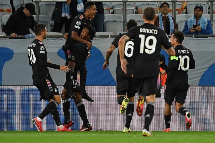 Esta vitória deixa o time de Turim na liderança do Grupo H   Foto: Jonathan Nackstrand   AFP - Foto: Jonathan Nackstrand   AFP