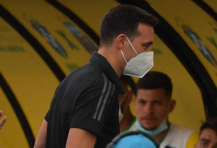 Lionel Scaloni, técnico da seleção argentina.