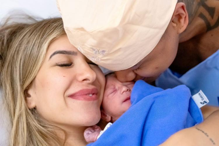 Liz nasceu de parto normal no Hospital Português   Foto: Divulgação - Foto: Divulgação