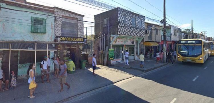 De acordo com testemunhas, ocorreu um arrastão na região de Santa Luzia do Lobado | Foto: Reprodução | Google Street View - Foto: Reprodução | Google Street View