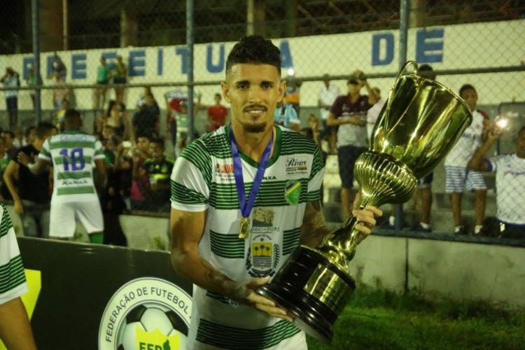 Atacante é o maior artilheiro da história do time piauiense   Foto: Luis Junior   Ascom Altos - Foto: Luis Junior   Ascom Altos