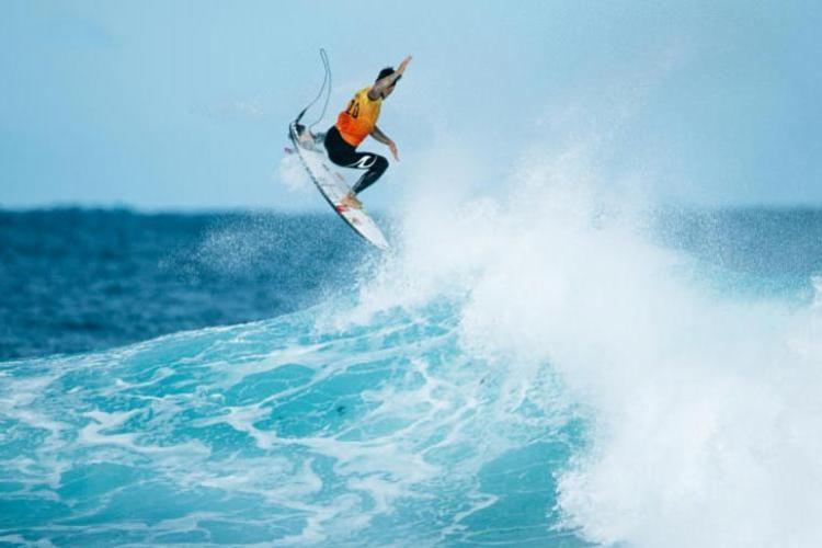 O surfista de Maresias se torou o primeiro brasileiro tricampeão mundial de surfe   Foto: Reprodução   WSL - Foto: Reprodução   WSL