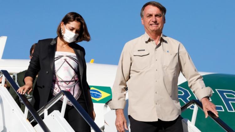 Primeira-dama foi vacinada nos EUA | Foto: Alan Santos/PR - Foto: Alan Santos/PR