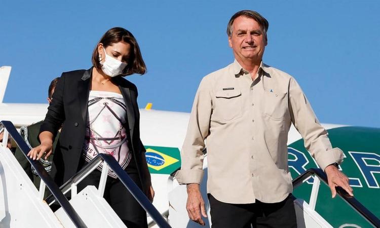 Segundo o presidente, Michelle o consultou antes de optar por tomar o imunizante | Foto: Alan Santos | Divulgação - Foto: Alan Santos | Divulgação