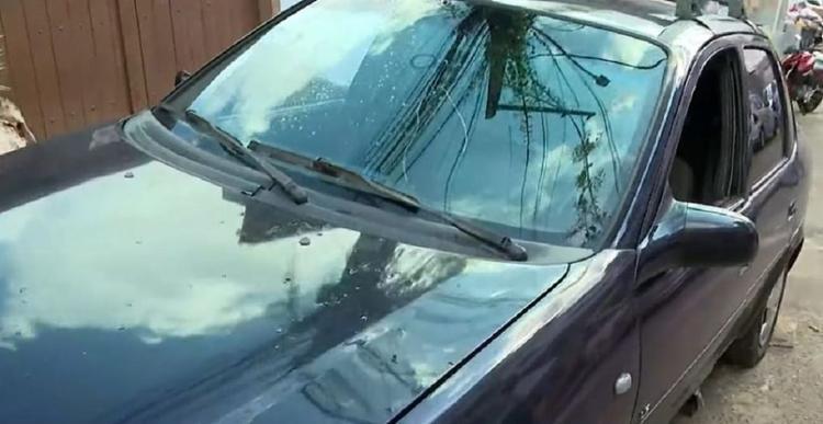 Motorista foi atacado enquanto trabalhava no bairro da Federação   Reprodução   TV Bahia - Foto: Reprodução   TV Bahia