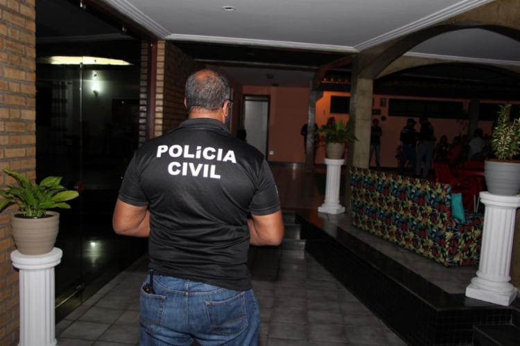 Casa de prostituição funcionava em uma mansão no bairro do Itaigara, em Salvador   Foto: Haeckel Dias   Polícia Civil - Foto: Haeckel Dias   Polícia Civil