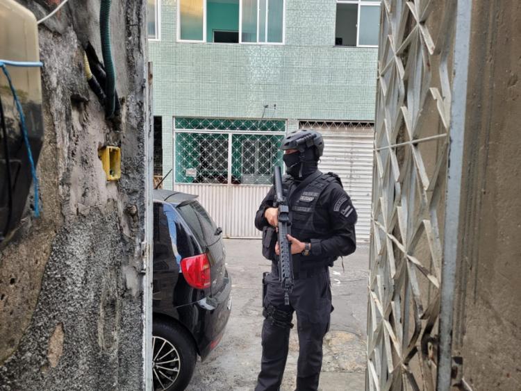 Ação visa cumprir mandados de prisão e busca e apreensão no estado | Foto: Divulgação | Natália Verena - Foto: Divulgação | Natália Verena