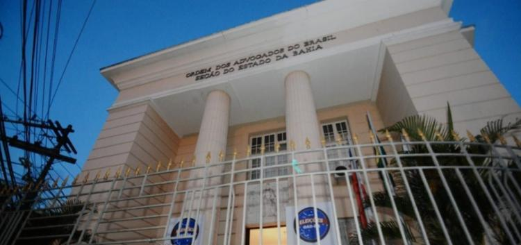 Ordem dos Advogados do Brasil - Secção Bahia - Foto: Divulgação