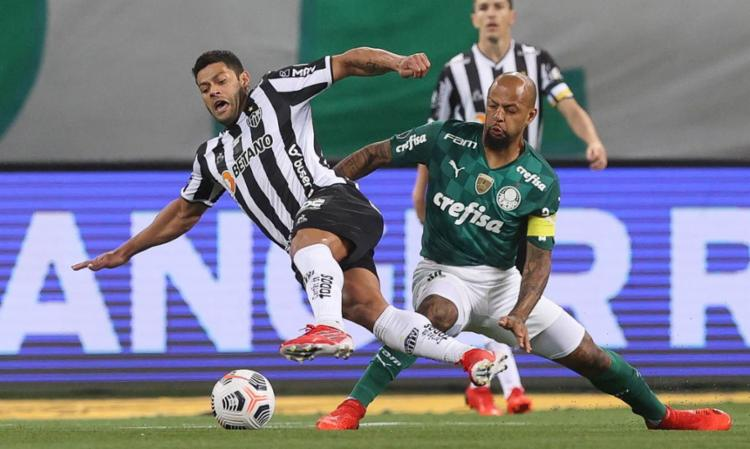 Atacante Hulk desperdiça cobrança de pênalti | Foto: Cesar Greco | SE Palmeiras - Foto: Cesar Greco | SE Palmeiras