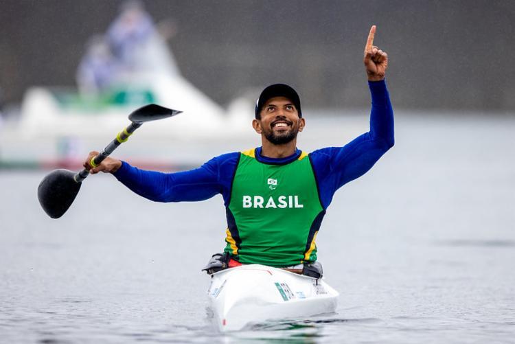 O atleta, que nasceu em Picos, terminou a prova em 48s031 | Foto: Miriam Jeske | CPB | Direitos Reservados - Foto: Miriam Jeske | CPB | Direitos Reservados