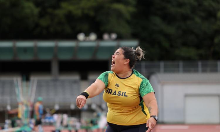 Atleta alagoana garantiu conquista com marca de 9,15 metros   Foto: Takuma Matsushita   CPB - Foto: Takuma Matsushita   CPB