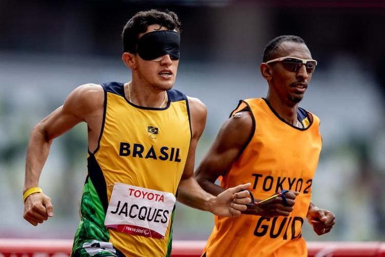Ele garantiu a 100ª medalha de ouro do Brasil em Paralímpíadas | Foto: Miriam Jeske | CPB | Direitos Reservados - Foto: Miriam Jeske | CPB | Direitos Reservados